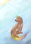 A Summer Swim by CaptainMango