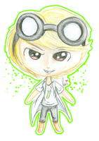 :: FA: Duncan, Mad Scientist :: by Laisana-and-Drew