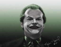 The Joker Jack Napier by MelloMarrero