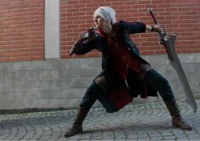 Devil May Cry - Nero cosplay by Jozo-Dono