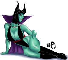 .Maleficent. by xGeekpower