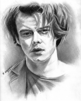 Charlie Heaton by AmyVanHym