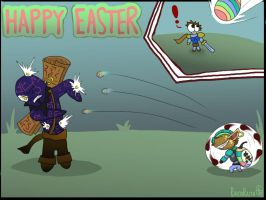 LoL - Easter with Ziggs by RavenRaith