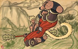 New Sun Wukong by Mike-Tr