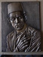 Boris Karloff. resin plaque by revenant-99
