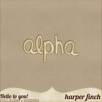 Hello to You!, Alpha by harperfinch