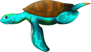 Hypra Sea Turtle by QueenOfIllusion