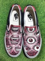Custom Vans Shoes by asakitay