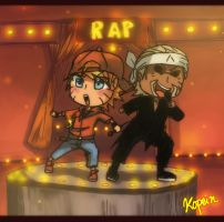 RAP Naruto and Killer Bee by Koaled