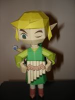Spirit Tracks Link Papercraft by BrunoPigh