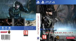 Metal Gear Solid V : The Phantom Pain PS4 W.I.P by AngryPIG
