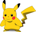 My third vector of, Pikachu. by Flutterflyraptor