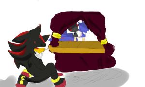 sonadow:pupet show by lilwhitefox2111