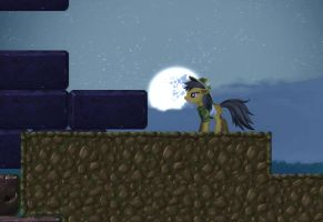Nightmare moon in Daring Do the game GIF by alexmakovsky