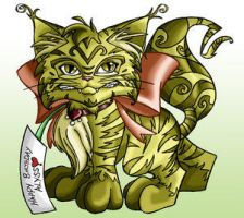 The Cat 1-laurean by Lost-Alyssians