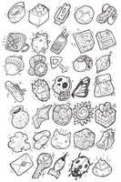 Sketches: Items 2 by KupoGames