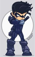 Lil Nightwing by lordmesa