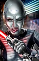 Asajj Ventress by TheArtofScott