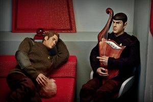 Kirk and Spock by Esperanza1976