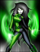 Shego on Fire by What-the-Gaff