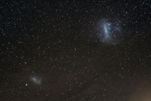 Magellanic clouds by astrofireball