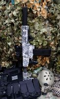 Customised Nerf Recon Honeybadger by dog-green-1