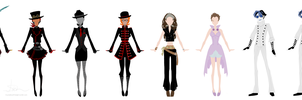 Fem!bots clothing design by CrystallizedTwilight