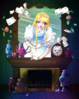 Alice Through the Looking Glass by JadeGordon