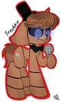 Freddy FNAF Ponified by TheMajesticButter394