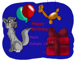 Happy Birthday mein schatz by The-Real-Shaydee
