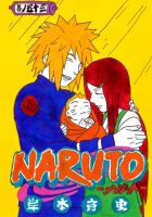 naruto manga cover fifty three by frecklesmile