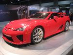 Flamin Red Hot Lexus LFA by granturismomh
