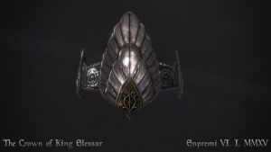 The crown of King Elessar by Enpremi