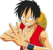 Monkey D Luffy by AsilaydyingJohnyyy