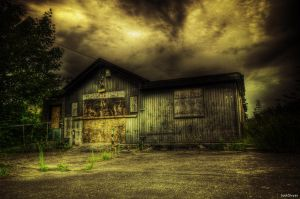 Abandoned Collection Office by JackSivyer