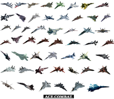Ace Combat Aces of Strangereal. by LooneyAces