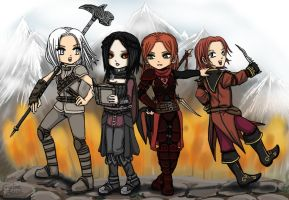 Adventurers by CrielineZodiac