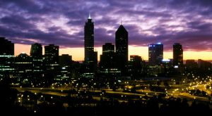 Perth At Dawn by MalcomX
