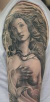 birth of venus by Remistattoo