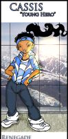 Character Designs: Cassis by TreStyles