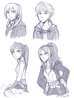 Robins by firehorse6