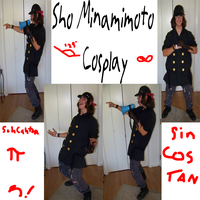 Sho Minamimoto Costume by WolfDeityProductions