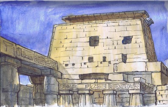 Luxor Temple by art2work