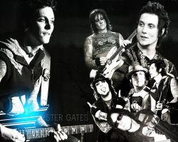 Synyster Gates Wallpaper 01 by dreamyvale