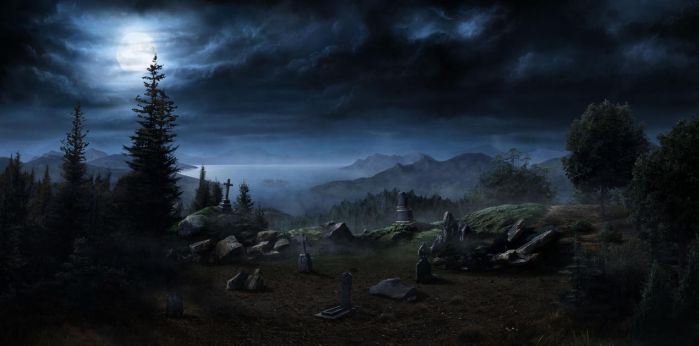 Cemetery by Lac-Tic