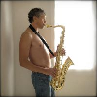 Saxophoniste - C. by Renoux