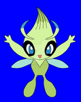 Hello Celebi! Long time no see! by aoi-watarimono