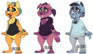 Chub Pups Adopts! [1/3 Open] by irrk