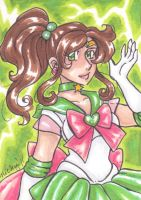 ACEO Sailor Jupiter by nickyflamingo