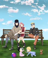 HAPPY END -NARUTO- by claudiadragneel